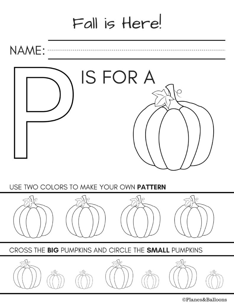 10 + Fall Worksheets Kindergarten Teachers And Students Absolutely | Free Printable Fall Worksheets Kindergarten