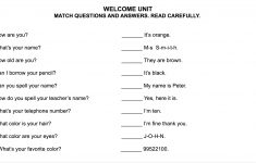 Printable Grammar Worksheets
