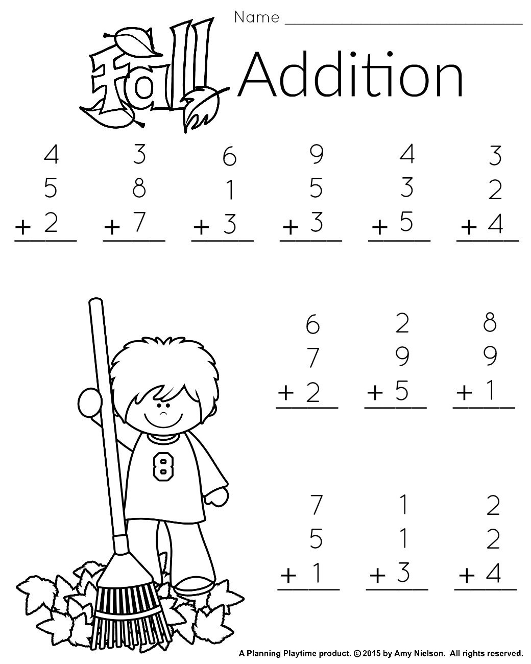 1St Grade Math And Literacy Worksheets With A Freebie!   Teachers   First Grade Math Worksheets Printable