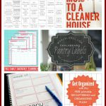 23 Free Printables To Organize Everything | Making Lemonade | Free Printable Home Organization Worksheets