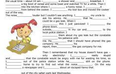 Past Simple Printable Worksheets