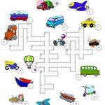 310 Free Esl Means Of Transport Worksheets   Free Printable | Free Printable Transportation Worksheets For Kids