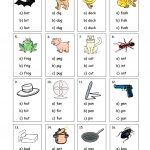 32 Free Esl Cvc Worksheets | Cvc Words Worksheets Free Printable
