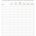38 Debt Snowball Spreadsheets, Forms & Calculators ❄❄❄ | Free Printable Debt Snowball Worksheet