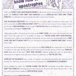 40 Free Punctuation Worksheets   Free Printable Punctuation Worksheets For Middle School