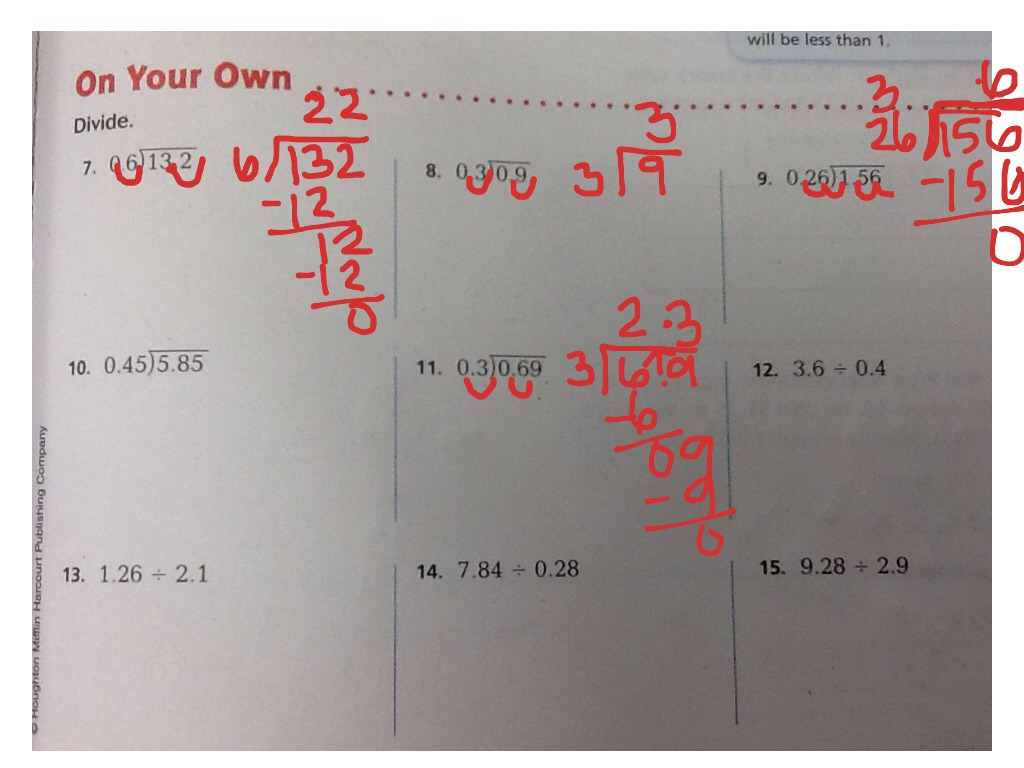 5.6 Go Math For Substitute | Math, Elementary Math, Go Math, 5Th | Go Math Printable Worksheets