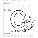 6 Best Images Of Free Printable Preschool Worksheets Letter C   Day   Letter C Printable Worksheets