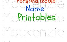 6 Best Images Of Printable Traceable Names Free Printable Name | Printable Name Tracing Worksheets