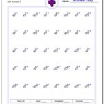 676 Division Worksheets For You To Print Right Now   Printable Simple Division Worksheets