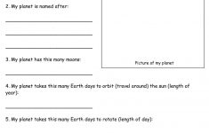 6Th Grade Printable Worksheets
