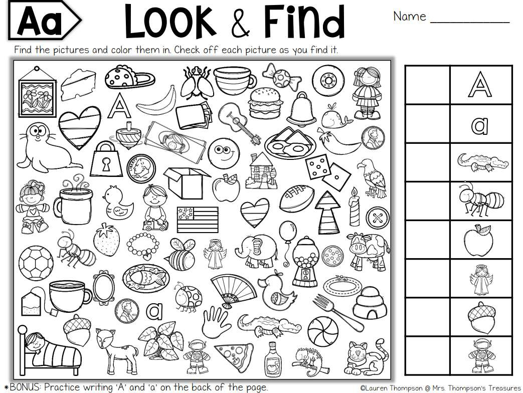7 Places To Find Free Hidden Picture Puzzles For Kids - Free | Free Printable Find The Hidden Objects Worksheets