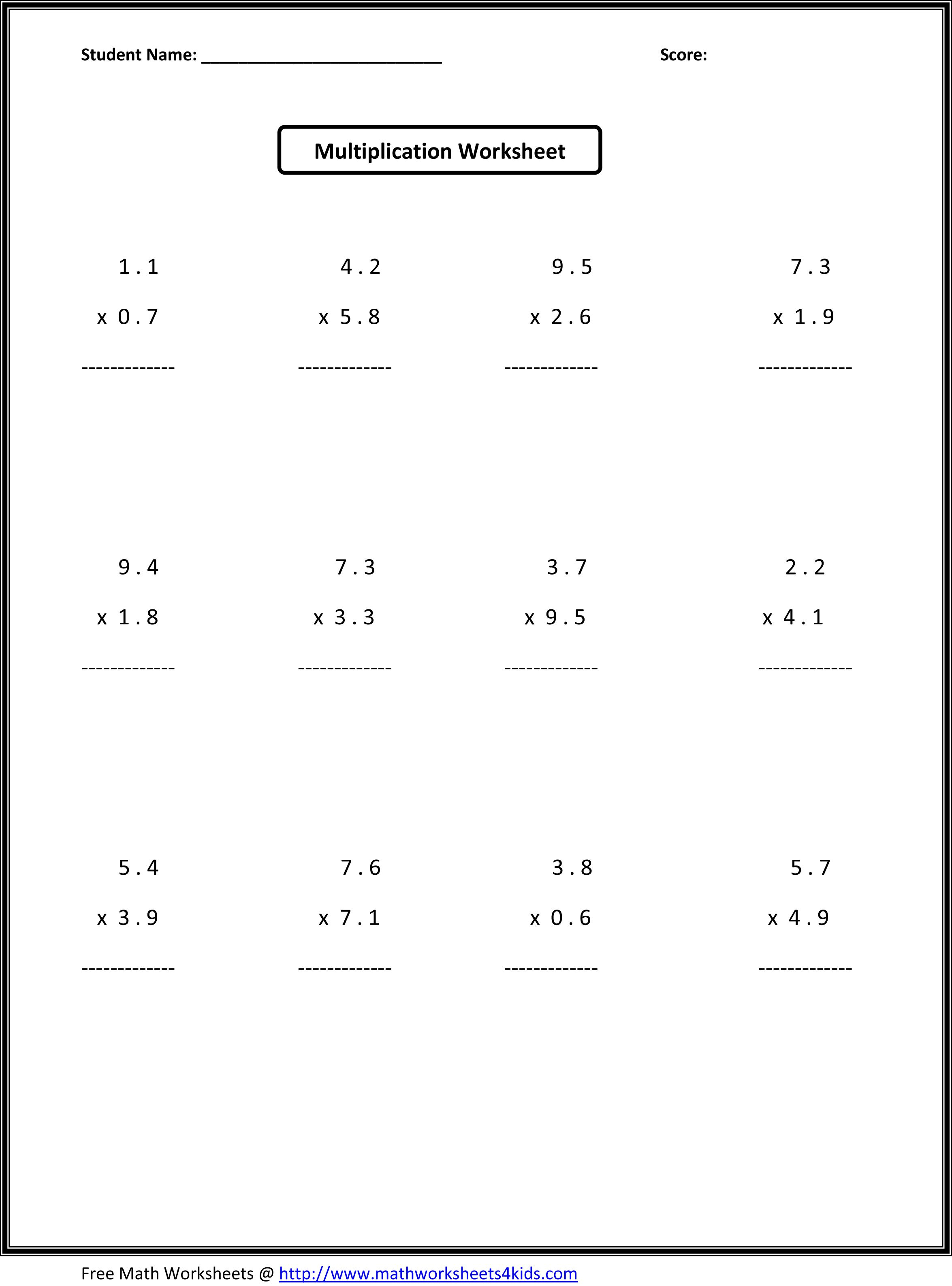 7Th Grade Math Worksheets | Value Worksheets Absolute Value - Free | Free Printable Math Worksheets 6Th Grade Order Operations