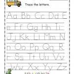 Abc Traceable Tracing Alphabet Kiddo Shelter Abc Traceable Sheets | Free Printable Preschool Worksheets Tracing Letters