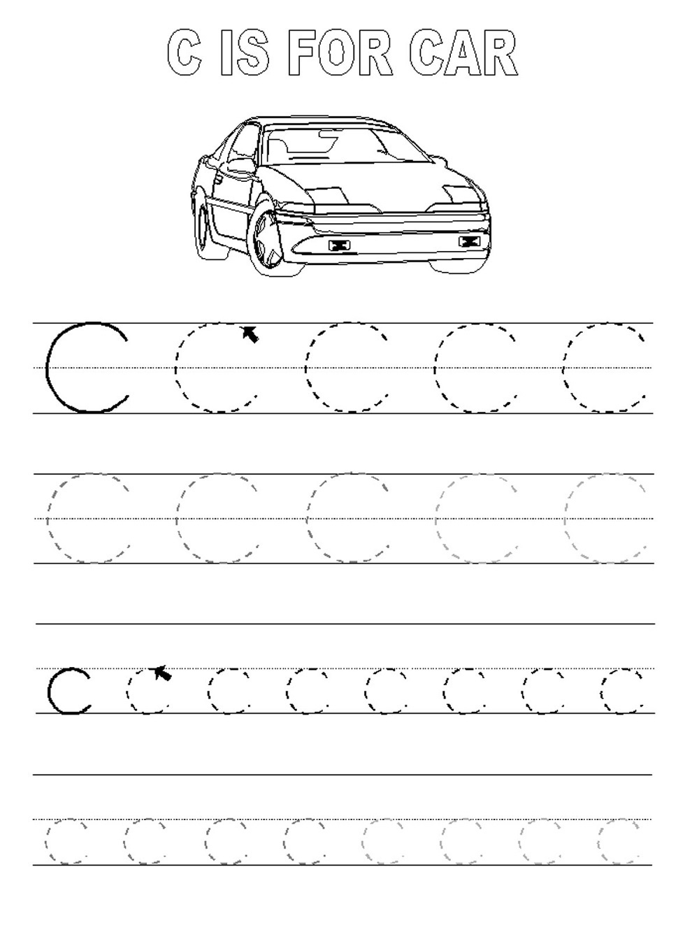 Abc Traceable Worksheets For Kids Activity | Kiddo Shelter | Traceable Abc Printable Worksheets