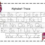 Abc Tracing Sheets For Preschool Kids   Kiddo Shelter   Alphabet And   Free Printable Preschool Worksheets