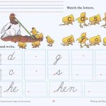 Abeka Worksheets | Writing With Phonics K5 Cursive | School | Abeka Printable Worksheets