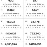 Acumen Divisibility Rules Games Printable Bing Images, Kindergarten   Divisibility Worksheets Printable