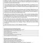 Agatha Christie   Reading Worksheet   Free Esl Printable Worksheets | Free Printable Middle School Reading Comprehension Worksheets