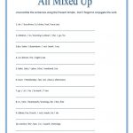 All Mixed Up ~ Sentence Scramble Worksheet   Free Esl Printable | Free Printable Scrambled Sentences Worksheets