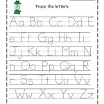 Alphabet Free Writing Worksheets For Kindergarten Handwriting   Free | Free Printable Preschool Worksheets Tracing Letters