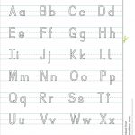 Alphabet Handwriting Pages Free Handwriting Worksheets Uppercase | Printable Alphabet Handwriting Worksheets