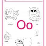 Alphabet Letter O Worksheet   Free Esl Printable Worksheets Made | Letter O Printable Worksheets
