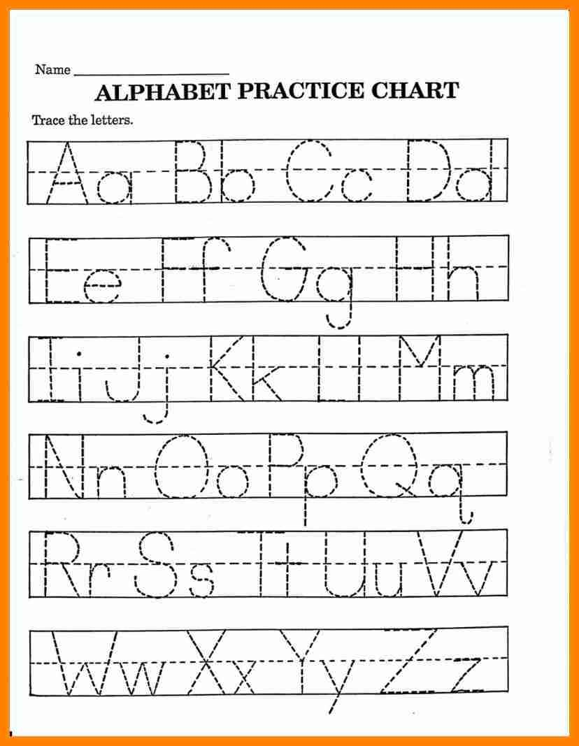Alphabet Worksheets For Pre K – With Preschool Also Free Printable | Free Printable Letter A Worksheets For Pre K