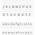 Alphabet Writing Practice Sheet | Edu Fun | Alphabet Worksheets | Free Printable Handwriting Worksheets For Preschool