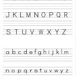 Alphabet Writing Practice Sheet | Edu Fun | Alphabet Worksheets | Preschool Writing Worksheets Free Printable