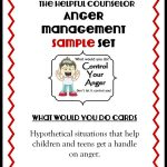 Anger Management Free Printable: Problem Solving   The Helpful Counselor | Anger Management Printable Worksheets