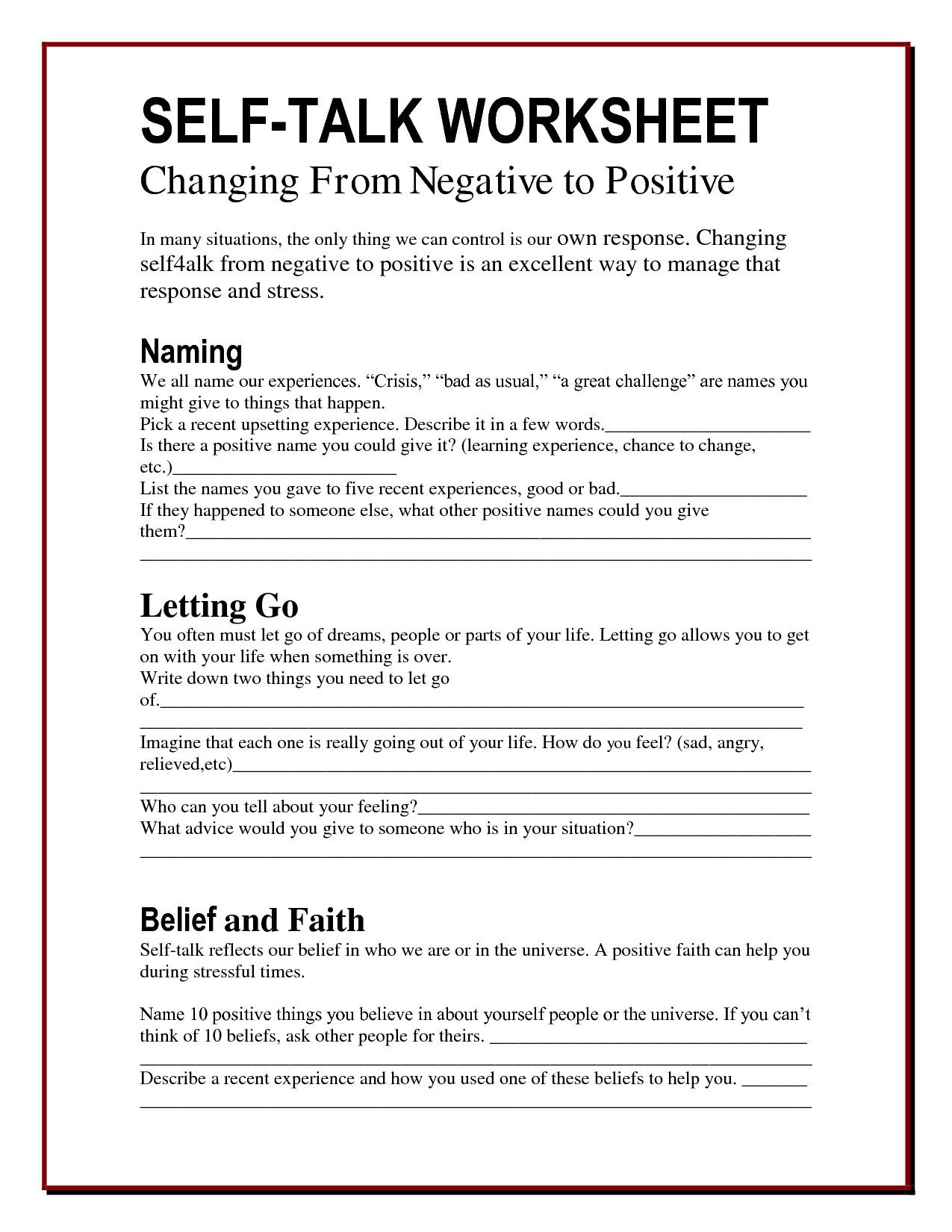 Anger Worksheets | Counseling - Worksheets - Printables | Therapy | Printable Mental Health Worksheets