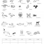 Animal Movements Worksheet   Free Esl Printable Worksheets Made | Free Printable Pet Worksheets