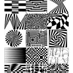Art 8   Art In Room A124 … | Op Art In 2019… | Optical Illusion Worksheets Printable