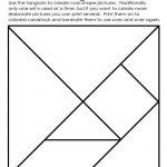 Art Element: Shape | Math | Tangram Puzzles, Elements Of Art | Tangram Worksheet Printable Free