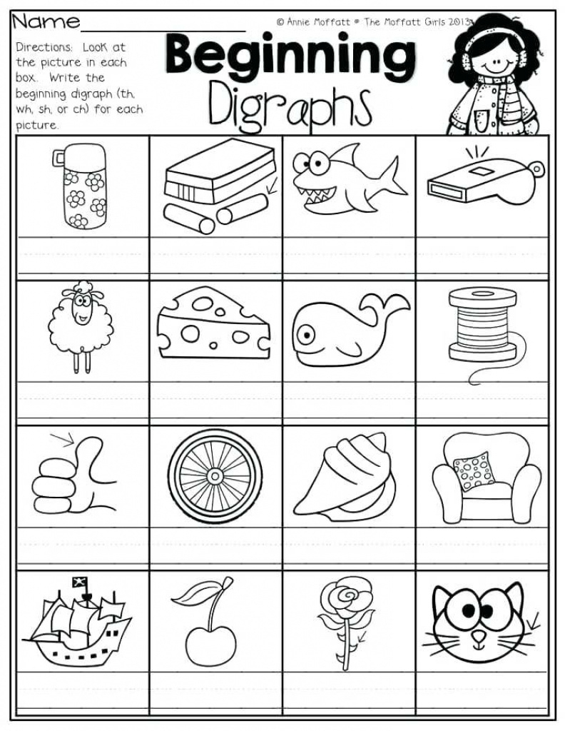 Articulation Worksheets Free Sh Ch Printable Activities For Free | Sh Worksheets Free Printable