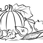 Autumn Harvest Coloring Page | Free Printable Coloring Pages | Colouring Worksheets Printable