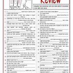 B1 Verb Tenses Review 1/2 Worksheet   Free Esl Printable Worksheets   Free Printable Worksheets On Verb Tenses