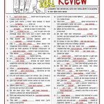 B1 Verb Tenses Review Worksheet   Free Esl Printable Worksheets Made | Free Printable Worksheets On Verb Tenses