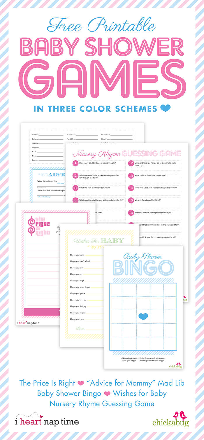 Baby Shower Free Printables! | Baby Shower Bliss! | Free Baby Shower | Free Baby Shower Games Printable Worksheets