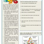 Basic Principles For A Good Nutrition Worksheet   Free Esl Printable | Free Printable Nutrition Worksheets