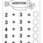 Beginner Addition – 6 Kindergarten Addition Worksheets / Free | Free Printable Pre K Math Worksheets