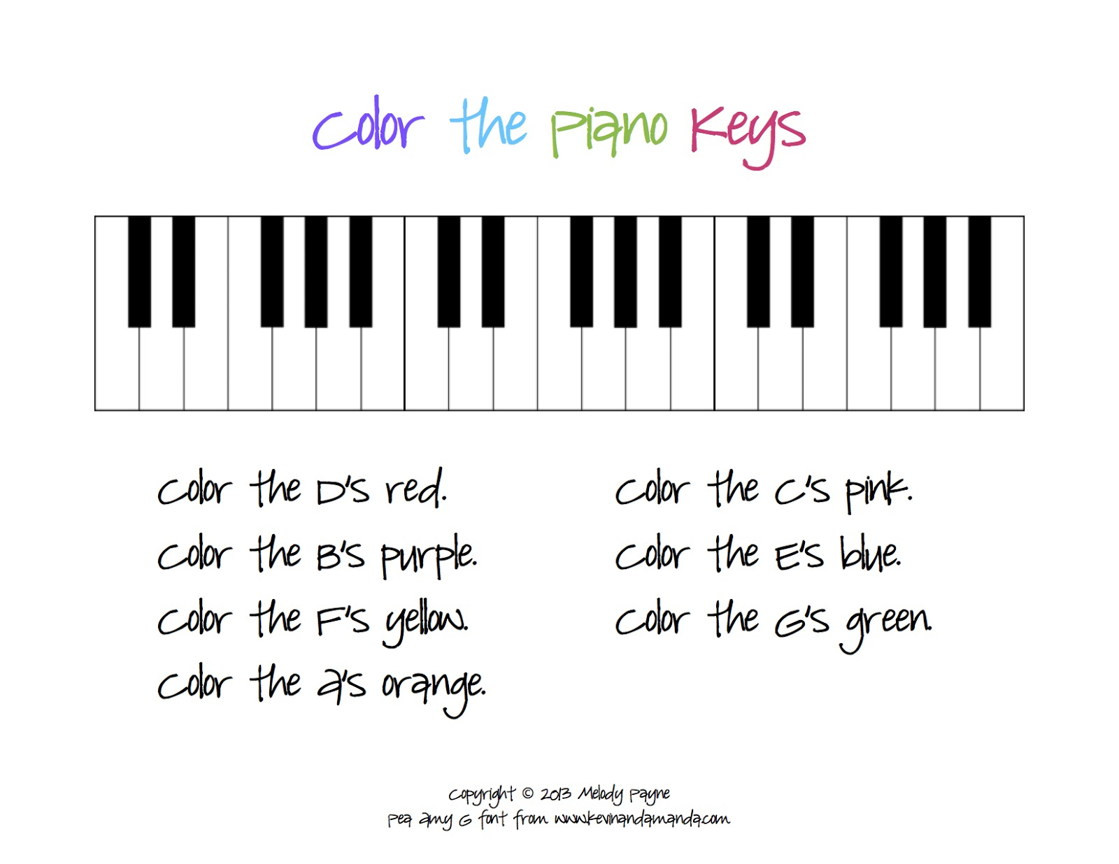 Beginner Piano Worksheets Printable Free | Free Printables Worksheet | Beginner Piano Worksheets Printable Free