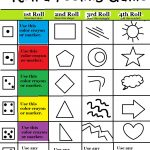 Beyond Art Therapy Roll A Feelings Game | Free Printable Counseling Worksheets
