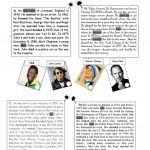 Biographies Of Famous People Worksheet   Free Esl Printable | Printable Biography Worksheets
