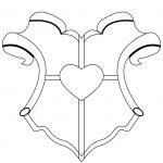 Blank Family Crest Template   Cliparts.co | Library Media Specialist | Printable Coat Of Arms Worksheet