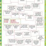 Board Game   Giving Advice Worksheet   Free Esl Printable Worksheets   Giving Advice Printable Worksheets