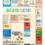 Board Game   Present And Past Simple Worksheet   Free Esl Printable | Are You My Mother Printable Worksheets