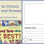 Book Mama: Back To School Hopes And Dreams   Boy Mama Teacher Mama | Hopes And Dreams Printable Worksheet