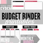 Budget Binder Printables   Single Moms Income | Printable Budget Binder Worksheets