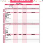 Budget Binder Printables   The Practical Saver | Printable Budget Binder Worksheets
